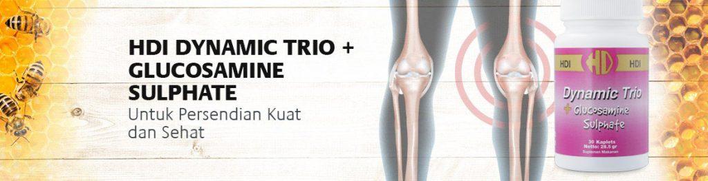Manfaat Dinamic Trio Plus Glucosamin Sulphate